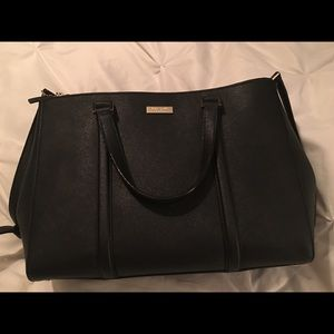 Kate Spade Newbury Lane saffiano leather satchel